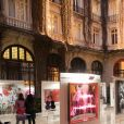"""Exclusif - Vernissage de l'exposition """"Femmes je vous aime"""" à l'Hôtel Plaza Athénée à Paris, le 25 février 2019. © Cyril Moreau/Bestimage"""