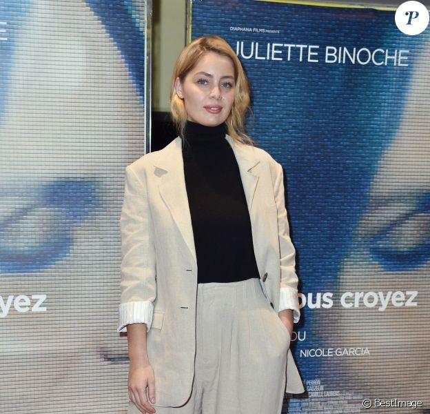 """Marie-Ange Casta - Avant première du film """"Celle Que Vous Croyez"""" au cinéma UGC Les Halles à Paris, le 26 février 2019. © Giancarlo Gorassini/Bestimage"""