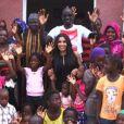 Majda et Mamadou Sakho au Sénégal pour leur association AMSAK - Agir pour les autres.