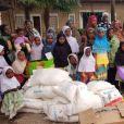 Majda et Mamadou Sakho à Zanzibar pour leur association AMSAK - Agir pour les autres.