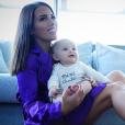 Manon marsault et son fils Tiago - Instagram, 2 janvier 2019