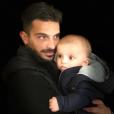 Julien Tanti et son fils Tiago - Instagram, 24 janvier 2019