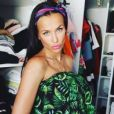 Julie Ricci affiche son baby bump - Instagram, juin 2018