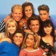 Jennie Garth, Ian Ziering, Gabrielle Carteris, Jason Priestley, Shannen Doherty, Luke Perry, Tori Spelling et Brian Austin Green, le 10 mai 2006.