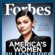 """Kylie Jenner en couverture de """"Forbes"""", août 2018."""