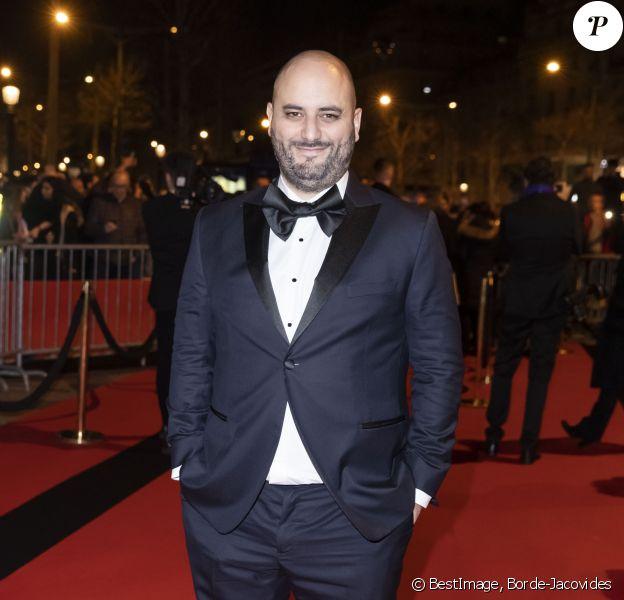 Jérôme Commandeur - Arrivées au dîner de la 44ème cérémonie des César au Fouquet's à Paris. Le 22 février 2019 © Borde-Jacovides / Bestimage