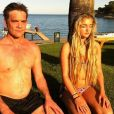 John Michie publie une photo avec sa fille Louella sur Instagram le 5 janvier 2018.