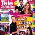 """Magazine """"Télé 2 Semaines"""" en kiosques le 11 mars 2019."""
