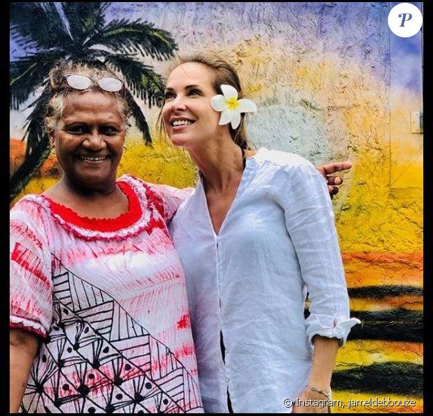 Jamel Debbouze a  partagé cette photo de sa femme Melissa Theriau, en Nouvelle-Calédonie, sur Instagram le 9 mars 2019