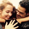 Jamel Debbouze partage une tendre photo avec sa femme Melissa Theuriau et leur fille Lila sur Instagram le 29 septembre 2016.