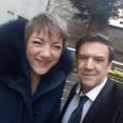 Marie-Christine et Christian Quesada le 17 janvier 2019.