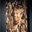 """Exclusif - Illustration - Vernissage de l'exposition """"Papertorn"""" de A.Mondy au MonParis! à Paris, France. Le 11 mars 2019. © Denis Sinoussi via Bestimage"""