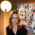 """Exclusif - Anne Mondy - Vernissage de l'exposition """"Papertorn"""" de A.Mondy au MonParis! à Paris, France. Le 11 mars 2019. © Denis Sinoussi via Bestimage"""