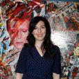 """Exclusif - Aurélia Khazan - Vernissage de l'exposition """"Papertorn"""" de A.Mondy au MonParis! à Paris, France. Le 11 mars 2019. © CVS / Bestimage"""