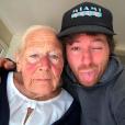 Jean Imbert et sa mamie de 92 ans, février 2019.