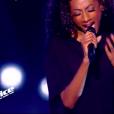 """Valérie Dore dans """"The Voice 8"""", le 16 mars 2019 sur TF1."""