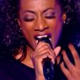 """Valérie Daure dans """"The Voice 8"""", le 16 mars 2019 sur TF1."""