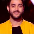 """Scam Talk dans """"The Voice 8"""" sur TF1, le 16 mars 2019."""