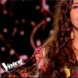 """Anne-Sophie dans """"The Voice 8"""" sur TF1, le 16 mars 2019."""