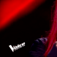 """Estelle dans """"The Voice 8"""" sur TF1, le 16 mars 2019."""
