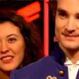 """Adrien dans """"The Voice 8"""" sur TF1, le 16 mars 2019."""