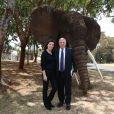 Rendez-vous avec Richard Attias et sa femme Cécilia en marge du sommet One Planet à Nairobi, Kenya le 14 mars 2019. Richard Attias est l'organisateur du One Planet Summit de Nairobi. © Dominique Jacovides / Bestimage