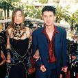 Etienne Daho et Elli Medeiros au Festival de Cannes, le 12 mai 1998.
