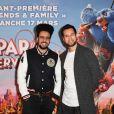 """Dako et Odah - Avant-première du film """"Le Parc des Merveilles"""" au cinéma Gaumont-Opéra à Paris. Le 17 mars 2019 © Coadic Guirec / Bestimage 17/03/2019 - Paris"""