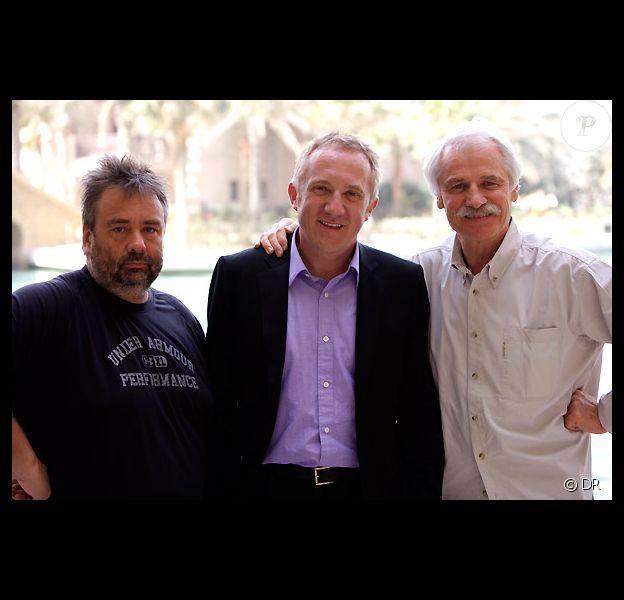 Luc Besson, François-Henri Pinault et Yann Arthus Bertrand