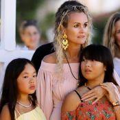Laeticia Hallyday, 44 ans : Puissantes déclarations d'amour de Jade et Joy