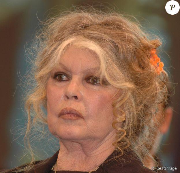 Brigitte Bardot le 1er juin 2011 à Paris.