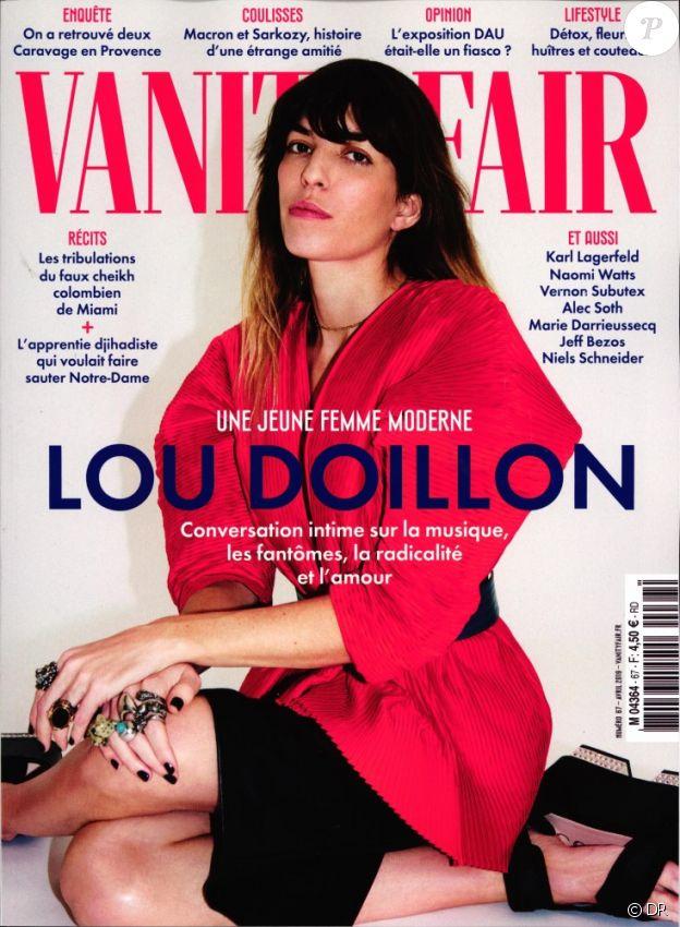 Le magazine Vanity Fair du mois d'avril 2019