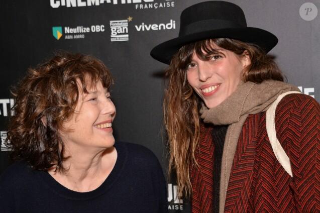 Jane Birkin et sa fille Lou Doillon - Ouverture de la rétrospective Jane Birkin à la cinémathèque française à Paris le 25 janvier 2017 . © Veeren/Bestimage