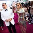 Alex Rodriguez et sa compagne Jennifer Lopez lors du photocall des arrivées de la 91ème cérémonie des Oscars 2019 au théâtre Dolby à Hollywood, Los Angeles, Californie, Etats-Unis, le 24 février 2019. © AMPAS/ZUMA Press/Bestimage
