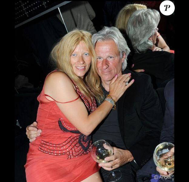 Bjorn Borg et sa femme au VIP Room à Paris, le 5 juin 2009