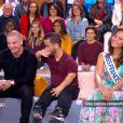 """Vaimalama Chaves (Miss France 2019) vanne Anouar Toubali dans """"Ça commence aujourd'hui"""" sur France 2, le 22 mars 2019."""