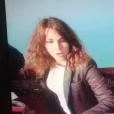Fanny Agostini (Thalassa) lors de la chute de sa montgolfière le 22 mars 2019 dans le golfe du Morbihan.