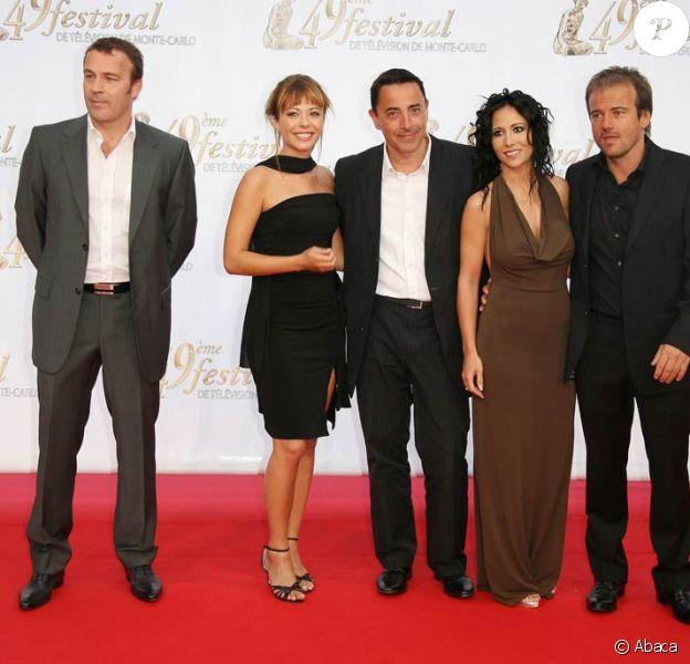 L'équipe de PBLV : Serge Dupire, Dounia Coesens, Hubert Besson (producteur), Fabienne Carat et Stéphane Henon