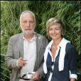 François Berléand et sa compagne Alexia Stresi à Roland-Garros