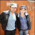 Clovis Cornillac et sa femme Caroline