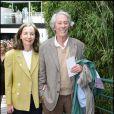 Jean-Rochefort et sa femme à Roland-Garros