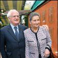 Simone Veil et son mari Antoine à Roland-Garros