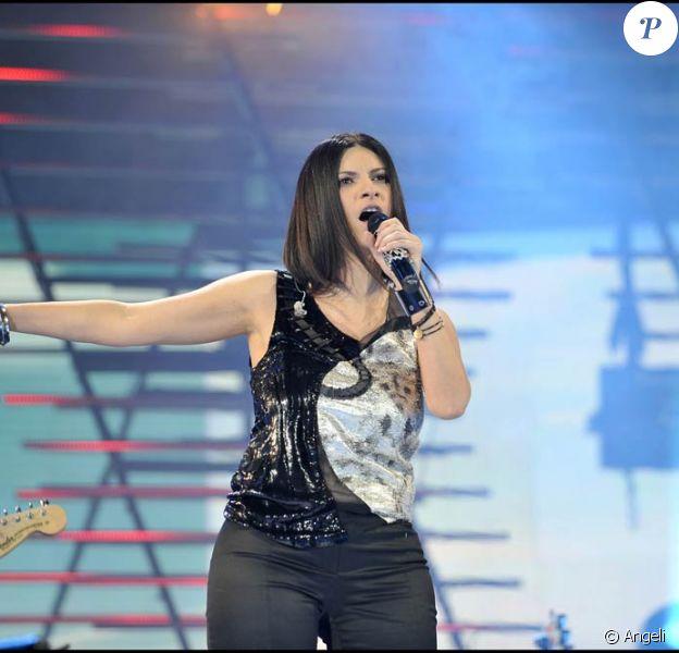 Laura Pausini au Wind Music Awards (Verone, ce week-end du 6-7 juin 2009)