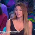"""Rachel Legrain-Trapani chroniqueuse dans """"TPMP People"""", 29 mars 2019, sur C8"""