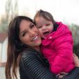 Julia Paredes radieuse avec Luna - Instagram, 28 mars 2019