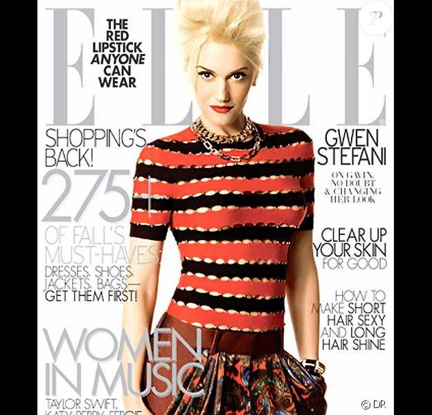 Gwen Stefani en couverture du Elle US