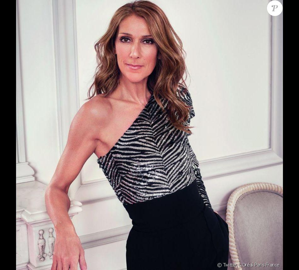 Céline Dion est la nouvelle ambassadrice de L'Oréal Paris. Avril 2019