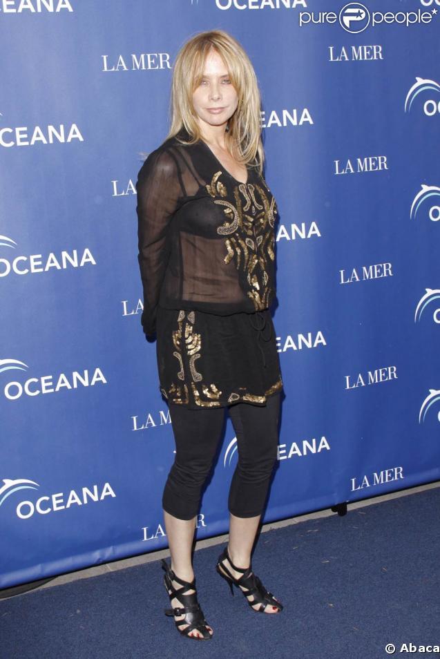 Rosanna Arquette, à l'occasion de la soirée Oceana and La Mer, pour le World Oceans Day, qui s'est tenue à Los Angeles, le 8 juin 2009 !