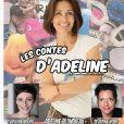 """Affiche du spectacle pour enfants """"Les contes d'Adeline"""""""