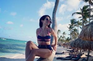Fabienne Carat divine en bikini à Punta Cana : Linda Hardy séduite...